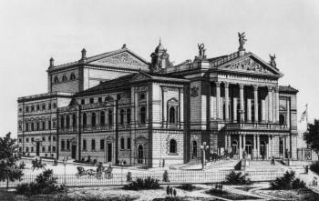 Busta Richarda Wagnera v pražské Státní opeře