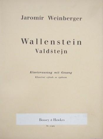 Weinbergerův Valdštejn ve Vídni – něco navíc