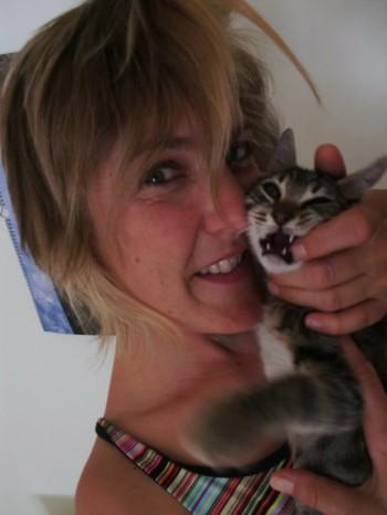 Operní diva a její kočky