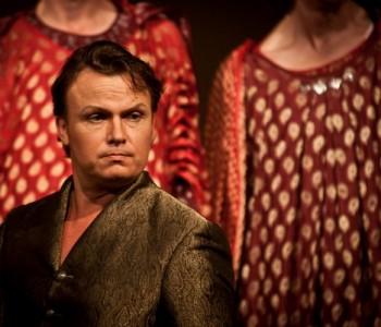 Nejnovější role Aleše Brisceina: Wagnerův Lohengrin. Hned napoprvé ve festivalové premiéře.