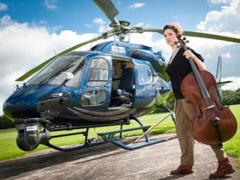 Londýn uvidí Stockhausenovu operu zahranou z letících vrtulníků