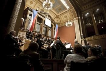 Ovace pro Český filharmonický sbor Brno