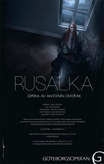 Znovu Rusalka: tentokrát v Göteborgu od Davida Radoka