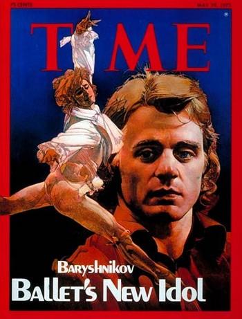 Takhle Balanchina tančil Baryšnikov