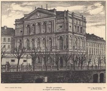 Z archivu: První operní představení v Prozatímním divadle