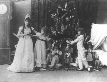 Z archivu: Čajkovského Louskáček roku 1908 v Praze, poprvé mimo svou vlast