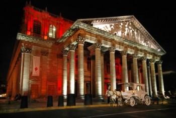 Divadla zblízka: Teatro Degollado Mexico