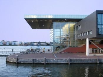 Design a zvuk: Muziekgebouw Amsterdam