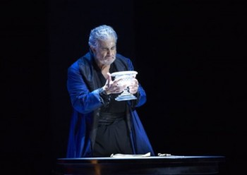 Vídeň: Simon Boccanegra s Domingem a Hrabě Ory bez Bartoli
