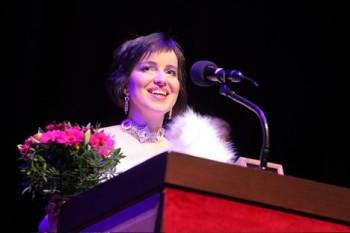 Titanie z brněnské premiéry Brittenova Snu noci svatojánské: Andrea Široká