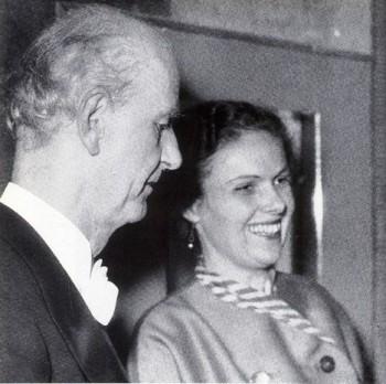 Vdova po slavném dirigentovi Elisabeth Furtwängler zemřela. Bylo jí 102 let.