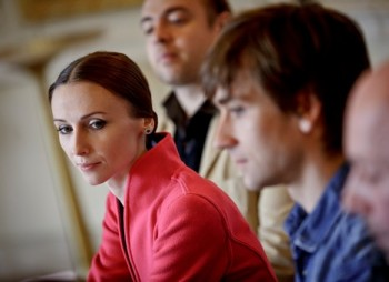 Baletní hvězda Svetlana Zakharova je v Praze