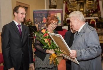 Varhaník Václav Rabas slaví osmdesátiny