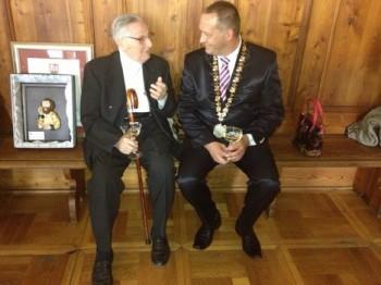Pavel Šmok získal čestné občanství v rodné Levoči