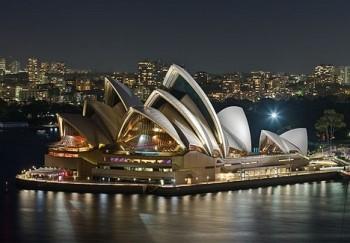 Slavná budova opery v Sydney slaví čtyřicátiny