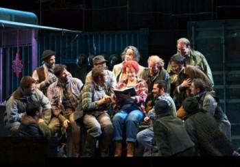 Stemme a Kaufmann ve vídeňské premiéře Pucciniho Děvčete ze Západu