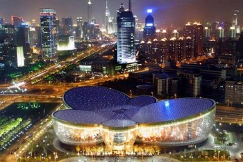 Design a zvuk: Shanghai Oriental Art Center
