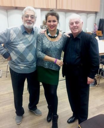 Netrebko, Domingo a Barenboim – hvězdné trio v berlínském Trubadúrovi