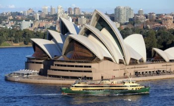Střecha slavné Opery v Sydney je na prodej