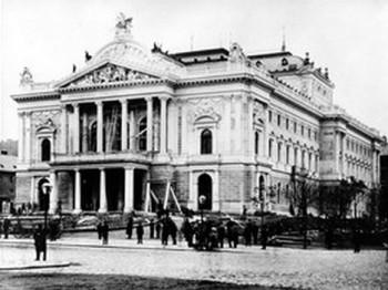 České operní divadlo dříve a dnes