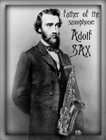 Před 120 lety zemřel otec saxofonu
