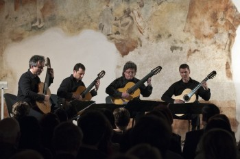 Guitar4mation – Martin Schwarz a Martin Wesely (Rakousko), Petr Saidl (Pardubice) a Michal Nagy (Polsko) – Pardubice 2014