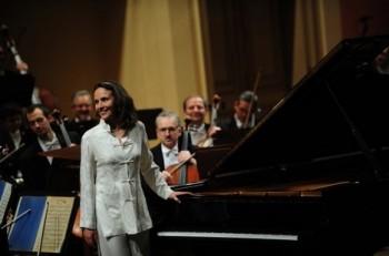 Brahms na bouřlivých vlnách Hélène Grimaud