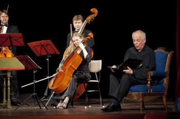 Barocco sempre giovane, Alfred Strejček (recitace) – Holice 2014