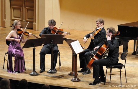 Julia Fischer Quartet a zamilovaný Martinů