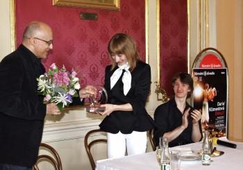 Daria Klimentová převzala mimořádnou Výroční cenu Opery Plus