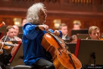 Na Pražském jaru zahrál violoncellista Maisky