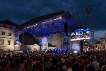 Letní koncert filharmonie na Hradčanech