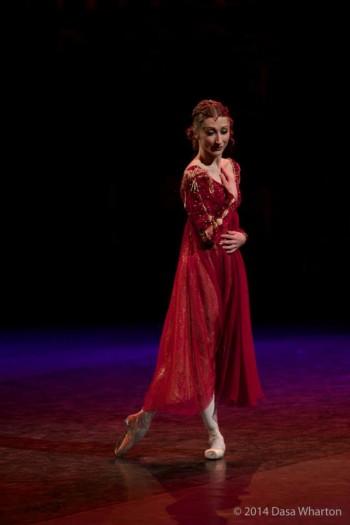 Daria Klimentová: poslední londýnská role