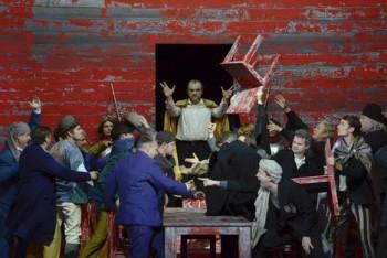 Simon Boccanegra v Drážďanech: v hlavní roli scénograf