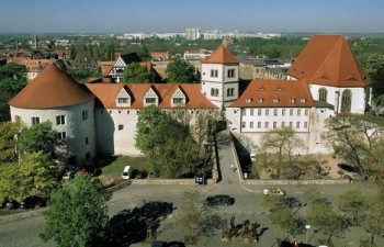 Vampýr na hradě v Halle