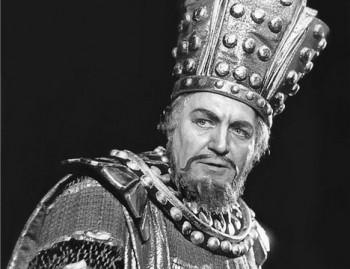 Oldřich Spisar, jeden z předních tenoristů poválečné Opery ND
