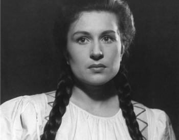Před 90 lety se narodila herečka Eva Klenová