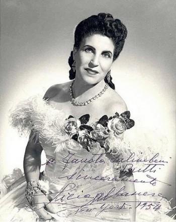 Bylo jí 105. Zemřela velká operní diva Licia Albanese