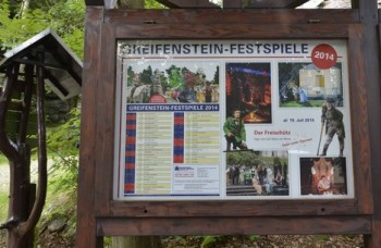 Greifensteinský festival a Čarostřelec