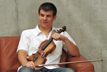 Velký úspěch houslisty Jana Mráčka