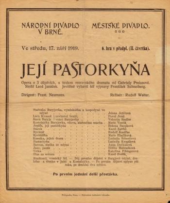 Dvě divadelní výročí