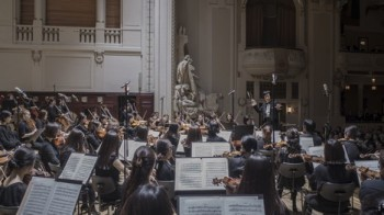 Zastávka Pučchonské filharmonie v Praze