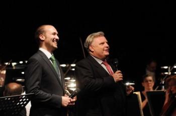 Slavnostní koncert v Novém divadle v Plzni k zahájení sezony