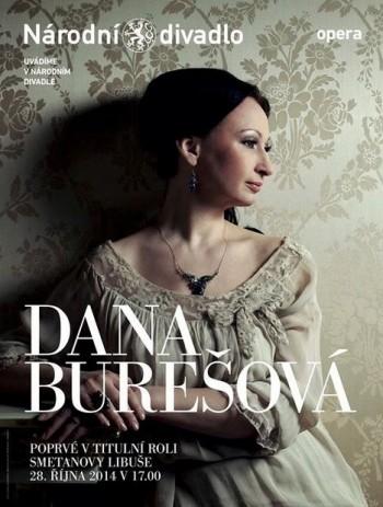 Po letech nová Smetanova Libuše: Dana Burešová
