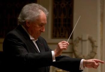 S FOK se v Praze loučil francouzský dirigent Baudo