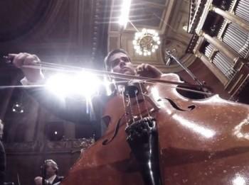 Podívejte se na koncert České filharmonie očima Go Pro kamery