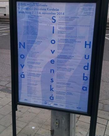 Bratislava: Nová slovenská hudba 2014