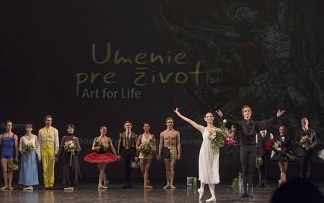 Bratislava: mezinárodní baletní gala na podporu onkologie