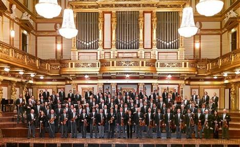 Novoroční koncert Vídeňských filharmoniků s tanečními čísly