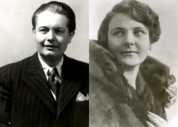 Úspěšná manželská operní dvojice: Josef Otakar Masák a Naďa Kejřová